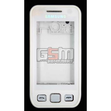 Корпус для Samsung S5250, белый, high-copy