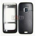 Корпус для Nokia E65, копия AAA, черный