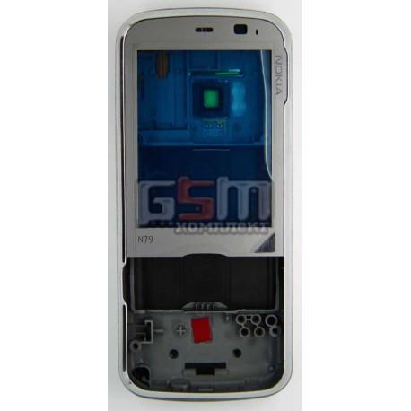Корпус для Nokia N79, серый, копия ААА