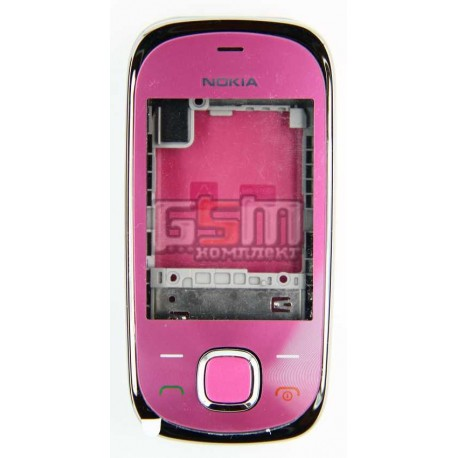 Корпус для Nokia 7230, розовый, копия ААА