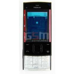 Корпус для Nokia X3-00, черный, копия ААА, с клавиатурой