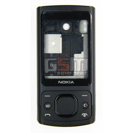 Корпус для Nokia 6700s, черный, копия ААА, с клавиатурой