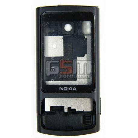 Корпус для Nokia 6700s, черный, high-copy