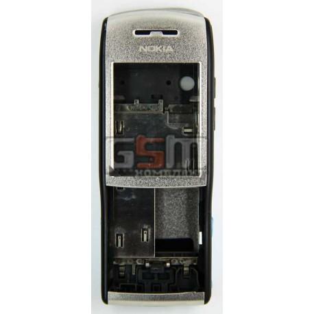 Корпус для Nokia E50, серебристый, копия ААА