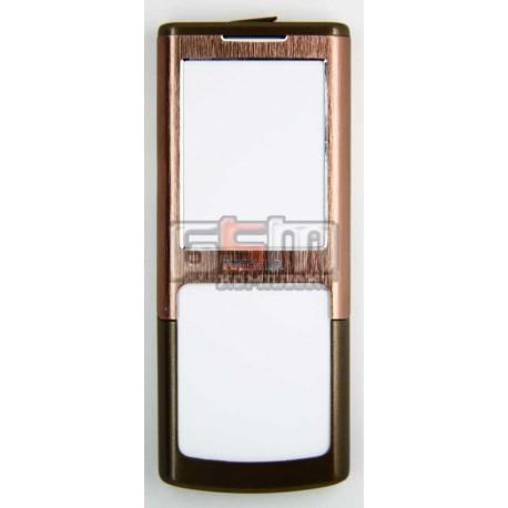 Корпус для Nokia 6500c, бронзовый, high-copy