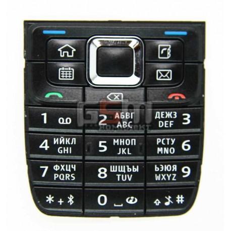 Клавиатура для Nokia E51, черная, русская