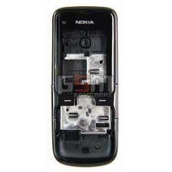Корпус для Nokia C1-01, high-copy, чорний
