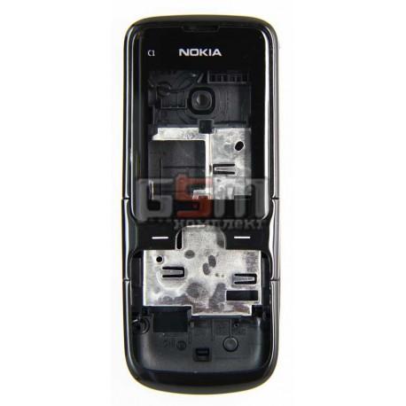 Корпус для Nokia C1-01, черный, high-copy