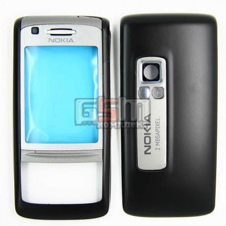 Корпус для Nokia 6280, черный, копия ААА