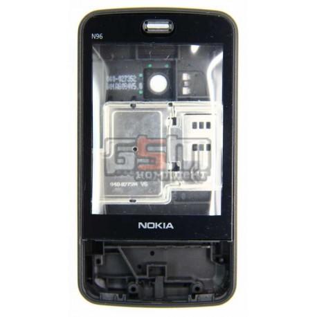 Корпус для Nokia N96, черный, копия ААА