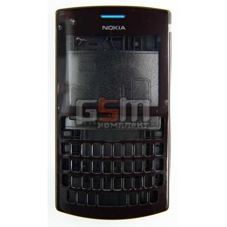 Корпус для Nokia 205 Asha, черный, копия ААА