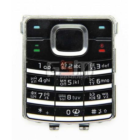Клавиатура для Nokia 6500c, черный, русская