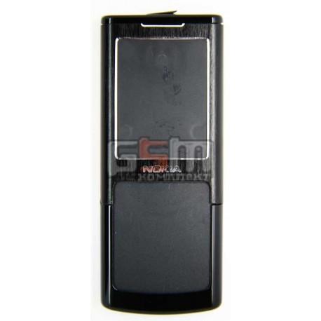 Корпус для Nokia 6500c, черный, копия ААА, с клавиатурой