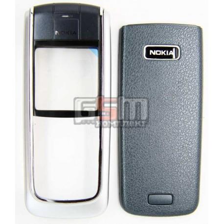 Корпус для Nokia 6021, копия AAA, серебристый