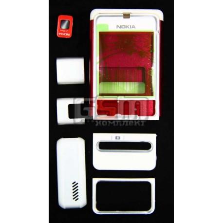 Корпус для Nokia 3250, красный, копия ААА