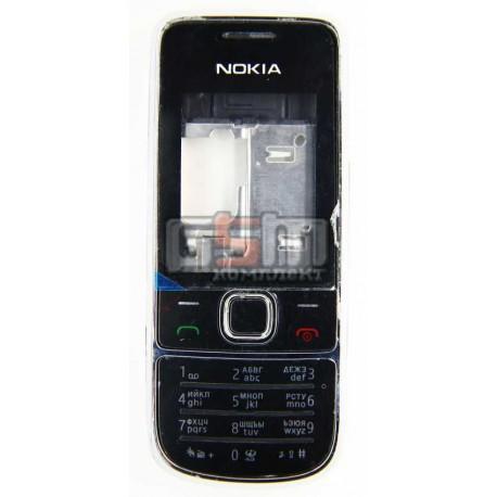Корпус для Nokia 2700c, белый, копия ААА, с клавиатурой