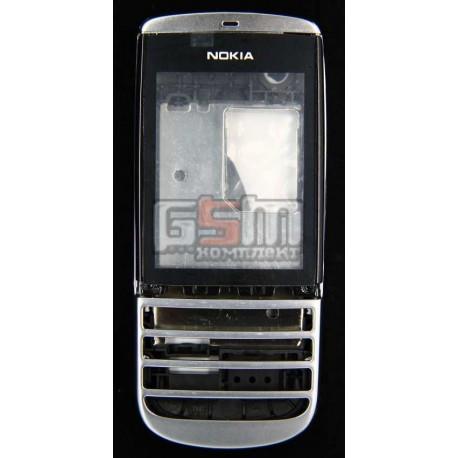 Корпус для Nokia 300 Asha, белый, копия ААА