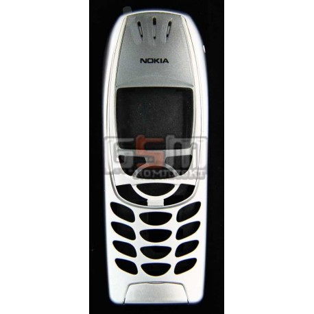 Корпус для Nokia 6310, 6310i, копия AAA, серебристый