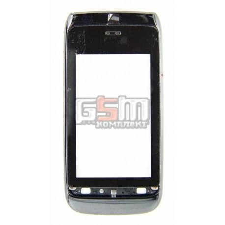 Тачскрин для Nokia 308 Asha, 309 Asha, 310 Asha, с рамкой черный