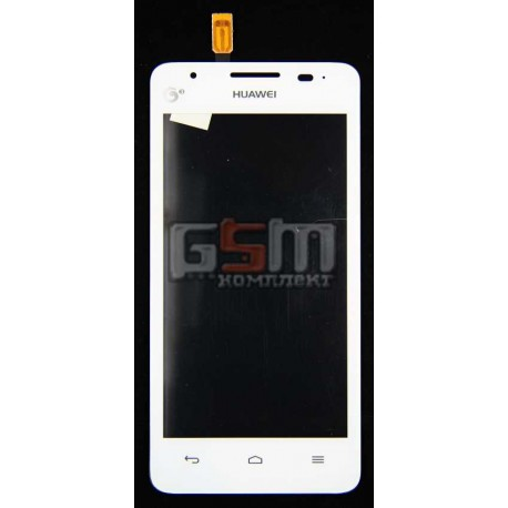 Тачскрин для Huawei U8951D Ascend G510, белый