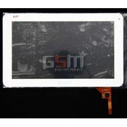 Tачскрин (сенсорный экран, сенсор) для китайского планшета 9, 12 pin, с маркировкой MF-198-090F-2, DPT-GROUP 300-N3860B-A00-V1.0, Perfeo 9103W, KNC MD903, Ployer MOMO9/MOMO9 Star, Gotab Lite GBT 9, Blusens Touch 90B/90W, Woxter 90BL, белый