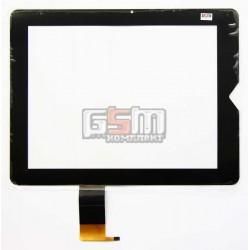 Tачскрин (сенсорный экран, сенсор) для китайского планшета 9.7, 6 pin, с маркировкой PB97DR8070-05, PB97DR8070-06, для Texet TM-9737, TM-9738W, TM-9747BT, TM-9748BT 3G, размер 240 x 182 mm, черный
