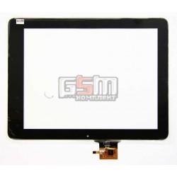 Tачскрин (сенсорный экран, сенсор) для китайского планшета 9.7, 6 pin, с маркировкой PB97DR971, HOTATOUCH C237180A1 FPC613DR, для Flytouch G08S, TeXet TM-9725, размер 237 x 180 mm, черный