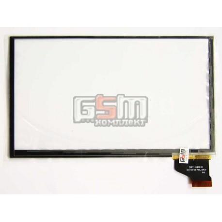 """Tачскрин (сенсорный экран, сенсор) для китайского планшета 7"""", 30 pin, с маркировкой DTP-GROUP 300-N3943B-A00_VER1.0 для Prestig"""