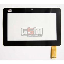 Тачскрин (сенсорный экран, сенсор ) для китайского планшета 7, 30 pin, с маркировкой YDT1152-A1, HT-X9, ZCC-1948 V2, размер 180 x 119 mm, черный