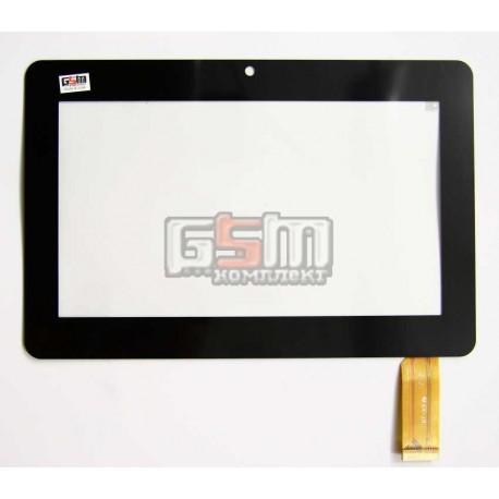 """Тачскрин (сенсорный экран, сенсор ) для китайского планшета 7"""", 30 pin, с маркировкой YDT1152-A1, HT-X9, ZCC-1948 V2, размер 180"""