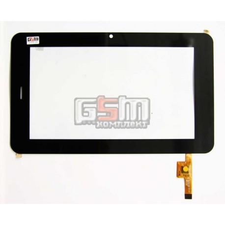 """Tачскрин (сенсорный экран, сенсор) для китайского планшета 7"""", 12 pin, с маркировкой EST-04-0700-0314 V2, для Prestigio MultiPad"""