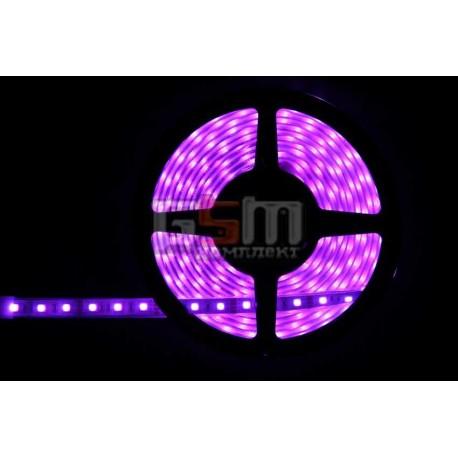 Світлодіодна стрічка LED-RGB-SMD-5050, 60 шт/м, водонепроникна IP67 в силіконовій трубці, 12V колір світіння різнокольорова (Ціна вказана за 1 м)