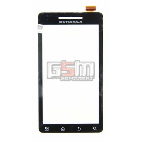 Тачскрин для Motorola A956 Droid 2 Global, черный