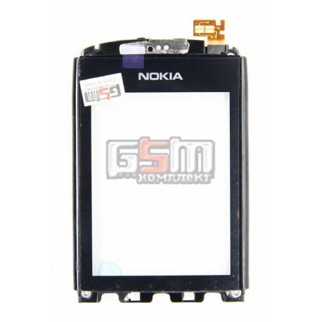 Тачскрин для Nokia 300 Asha с рамкой
