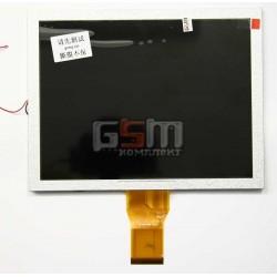 Экран (дисплей, монитор, LCD) для китайского планшета 8, 50 pin, с маркировкой 20001086-00, 32-D043806