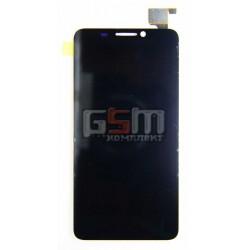 Дисплей для Alcatel OneTouch Idol 6030D с тачскрином черный