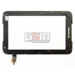Тачскрин для планшета Lenovo IdeaTab A1000, черный, #NTP070CM352001/NAS_207011100010