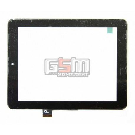 Тачскрін (сенсорний екран, сенсор) для китайського планшету 8, 51 pin, с маркировкой F0264 XDY, F0264 HZX, C0381-DX, для 3Q Qoo! Q-pad RC0817C, размер 198*150 мм, черный