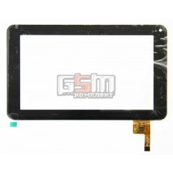 Tачскрин (сенсорный экран, сенсор) для китайского планшета 7, 12 pin, с маркировкой silead_HLD_0726, HLD-0726, черный