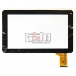 Tачскрин (сенсорный экран, сенсор) для китайского планшета 9, 50 pin, с маркировкой BSR032FPC-BZ, 147-B, QSD E-C9005-01, MF-358-090F-2FPC, FHF090006, FPC-FC90S098(D90)-00, для Reellex TAB-97B-01, Play Gadgets BC-349, черный