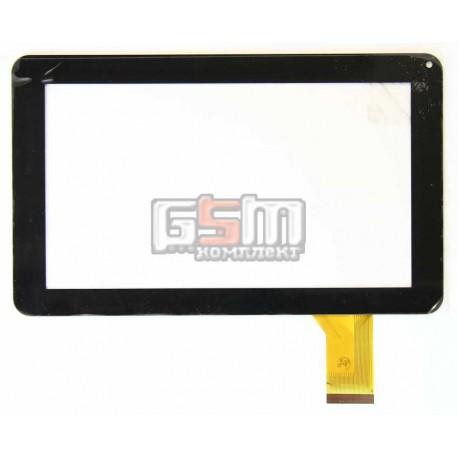 Тачскрін (сенсорний екран, сенсор) для китайського планшету 9, 50 pin, с маркировкой DH-0901A1-FPC03-2, YDT1143-A2, FM901801KB, черный