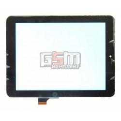 Tачскрин (сенсорный экран, сенсор) для китайского планшета 8, 30 pin, с маркировкой HOTATOUCH C152201A1, DRFPC085T-V1.0, черный