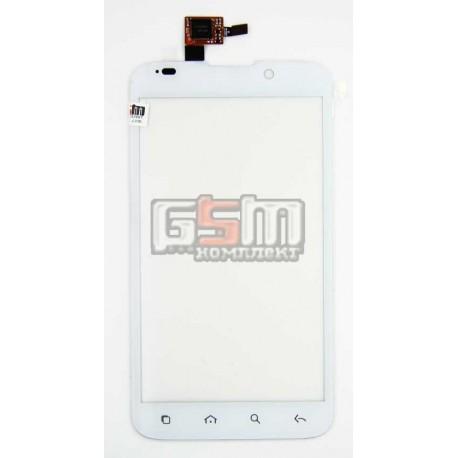Тачскрін, сенсорний дисплей для Alcatel OT995, TCL A998, білий