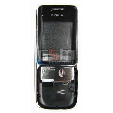 Корпус для Nokia C2-01, белый, копия ААА