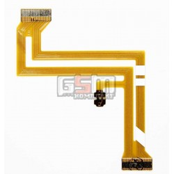 Шлейф для цифрових відеокамер Samsung VP-D451, VP-D451i, VP-D452n, VP-D453, VP-D453i, VP-D454, VP-D455, VP-D455i, VP-D461, VP-D463b, VP-D651, VP-D653, VP-D653i, VP-D655i, для дисплею