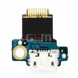 Шлейф для HTC S710e Incredible S, коннектора зарядки, с компонентами