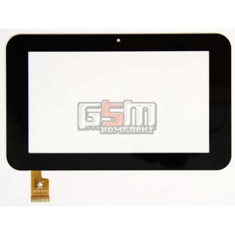 """Tачскрин (сенсорный экран, сенсор) для китайского планшета 7"""", 30 pin, с маркировкой DIGNMU TPC0185 VER2.0, размер 192 x116 mm,"""