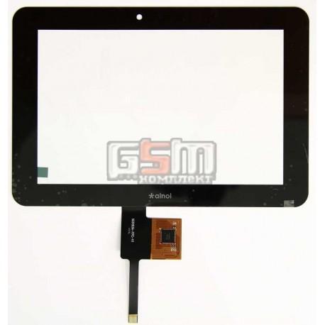Тачскрін (сенсорний екран, сенсор) для китайського планшету 7, 10 pin, с маркировкой SG5193A-FPC-V1, для Ainol Novo 7 Fire, Novo 7 Flame, размер 181*122 мм, черный