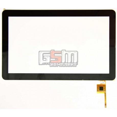 """Тачскрин (сенсорный экран, сенсор ) для китайского планшета 10.1"""", 6 pin, с маркировкой Topsun_M1003_A1, для GoClever Tab A103,"""