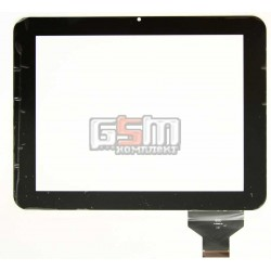 Tачскрин (сенсорный экран, сенсор) для китайского планшета 9.7, 50 pin, с маркировкой E-C97004-04, для Globex GU903C, размер 239 x 183 mm, камера в верхней части по центру, черный